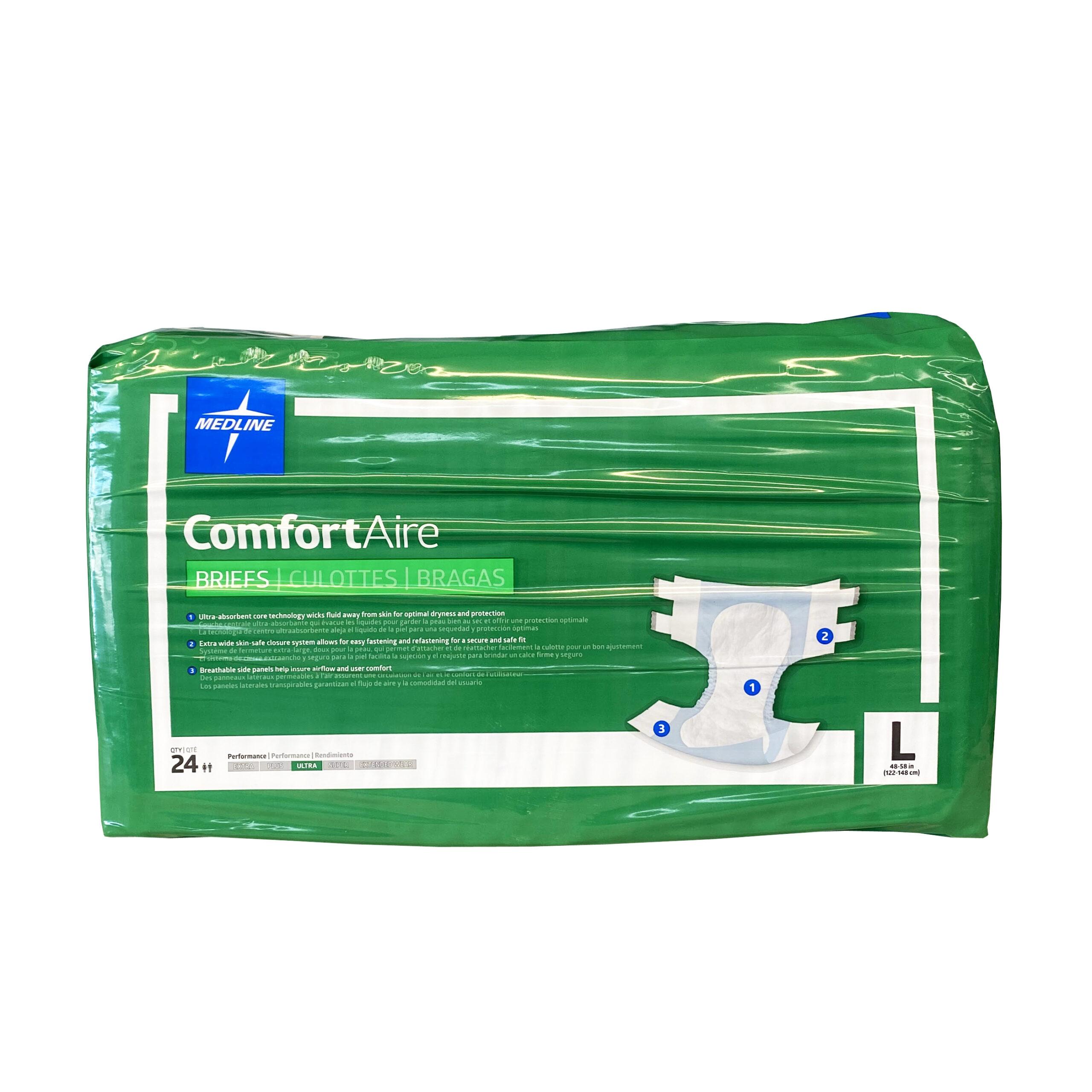 Medline Comfort-Aire Adult Briefs
