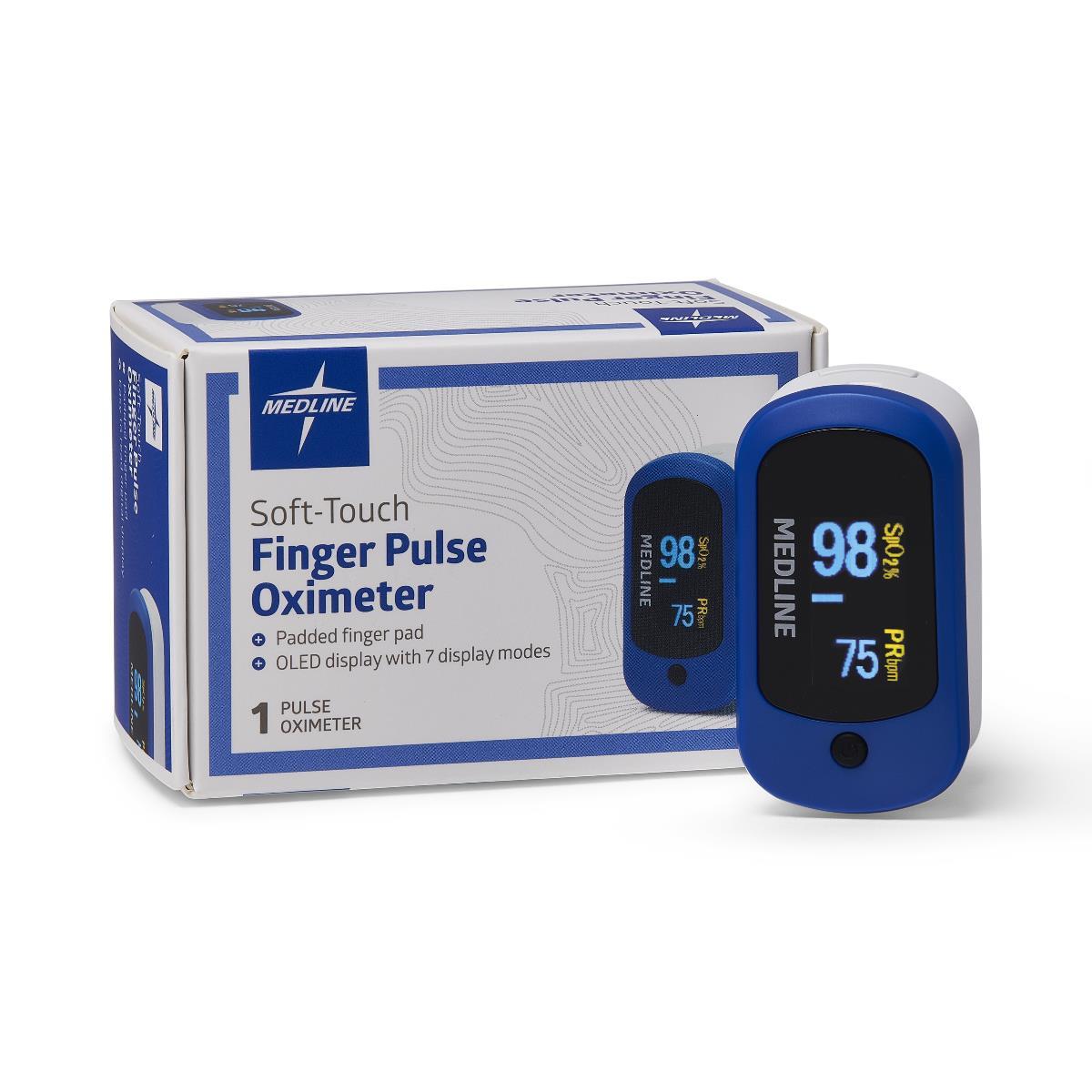 Medline Finger Pulse Oximeter