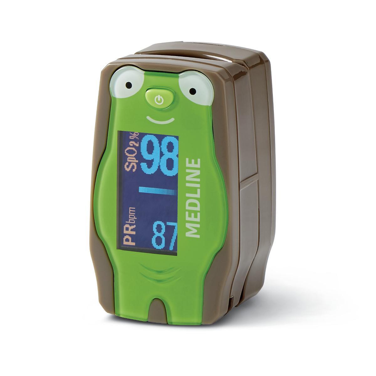 Medline Pediatric Finger Pulse Oximeter
